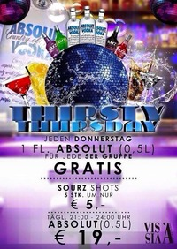 Thirsty Thursday@Vis A Vis