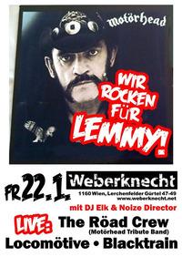Wir rocken für LEMMY!@Weberknecht