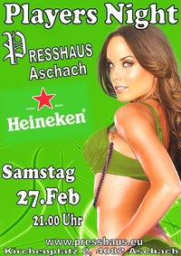 Players Night im Presshaus Aschach