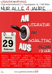 LITERATUR am SCHALTTAG@Cafe Club International C.I.