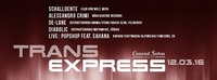 TRANS EXPRESS // Samstag, 12. März 2016 // Conrad Sohm@Conrad Sohm