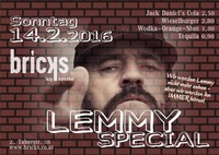 LEMMY SPECIAL@Bricks - lazy dancebar