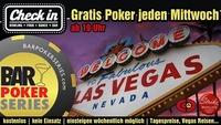 Gratis Poker im Check in jeden Mittwoch@Check in