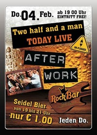 Two half and a man LIVE!@Excalibur