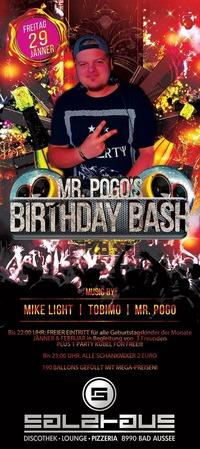 MR POGO BIRTHDAY BASH !@Salzhaus