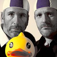 Stermann & Grissemann | Die Ente bleibt draussen@Bühne im Hof