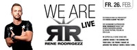 RENE RODRIGEZZ live@Cube One