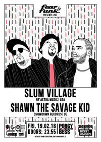 Fear le Funk – Slum Village & Shawn The Savage Kid@Porgy & Bess