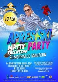 Apres Ski Party Mautern - Halli Galli Hüttengaudi mit Matty Valentino!@Römerhalle Mautern
