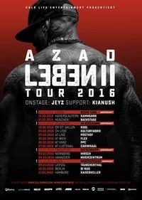 AZAD - LEBEN II Tour 2016@Backstage