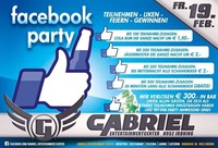 FACEBOOK PARTY@Gabriel Entertainment Center
