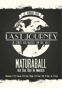 Hak Ball Ried 2016: Last Journey - In einer Ballnacht um die Welt