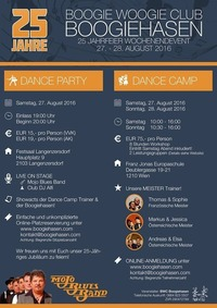 25 Jahre Boogiehasen Dance Camp@Franz Jonas Europa Schule