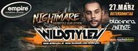 WILDSTYLEZ presented by NIGHTMARE_hardstyle club attack@Empire St. Martin