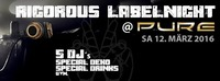 RIGOROUS RECORDS LABELNIGHT@Pure Kufstein