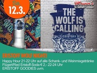 ERISTOFF WOLF NIGHT@Maurer´s