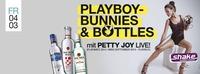 PLAYBOY BUNNIES & BOTTLES -live- PETTY JOY@Shake