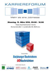 6. Karriereforum Linz@Palais Kaufmännischer Verein