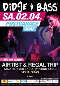 Didge & Bass mit Airtist und Regal Trip