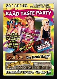 Bääd Taste Party@Excalibur