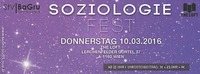 Soziologie Fest │10.3.@The Loft