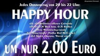 Happy Hour@Strass Lounge Bar