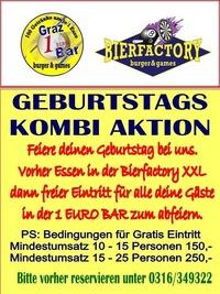 GEBURTSTAGS KOMBI@1 EURO BAR