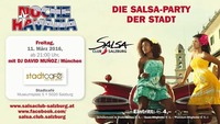 NOCHE HAVANA 11.3.2016 die Salsa Party der Stadt SALSA CLUB SALZBURG@Stadtcafe Salzburg