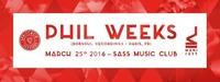 Spritzwein Sessions w/ Phil Weeks (Robsoul Rec., Paris)@SASS