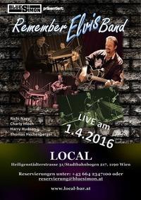 REMEMBER ELVIS BAND  im Local@Local - BAR | LIVE | MUSIK