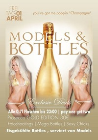Bottles & Models #PremiumNight@Johnnys - The Castle of Emotions