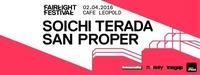 Fairlight Festival DAY 3: SOICHI TERADA & SAN PROPER@Café Leopold