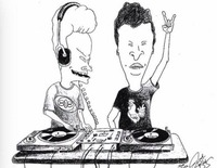 BEAVIS AND BUTTHEAD and the TIMEMACHINE@Jederzeit Club Lounge