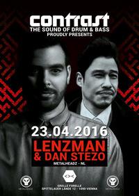 CONTRAST presents LENZMAN & DAN STEZO (Metalheadz - NL)@Grelle Forelle