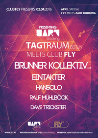 Club FLY meets Zart Booking (Berlin)@Fly