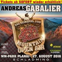 ANDREAS GABALIER – Mountain Open Air