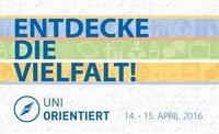 UniOrientiert – die Informationsveranstaltung für SchülerInnen@Universität Wien
