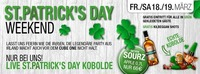 St.Patrick`s Day-WEEKEND@Cube One
