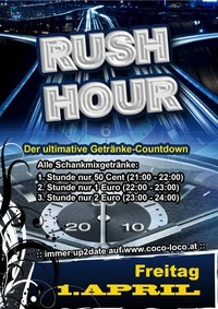 RUSH HOUR@Disco Coco Loco