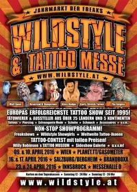 Wildstyle & Tattoo Messe 2016@Brandboxx Salzburg
