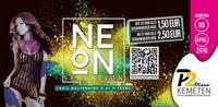 NEON SENSATION // Schankmixer um 1,50€ bis 23:00, danach 2,50€ // P2-Kemeten@Disco P2