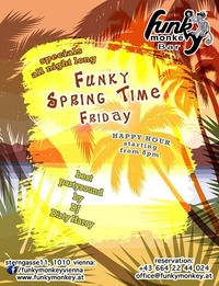 ☼ Funky Town ☼ Friday April 8th, 2016@Funky Monkey