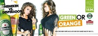 GREEN OR ORANGE