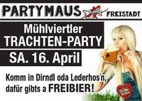 MÜHLVIERTLER TRACHTEN-PARTY@Partymaus Freistadt