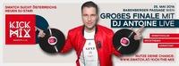 DJ ANTOINE live! Swatch Kick The Mix - das Finale presented by SPLASH!@Babenberger Passage