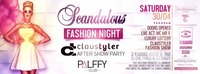 Scandalous Claustyler After Show Party@Palffy Club