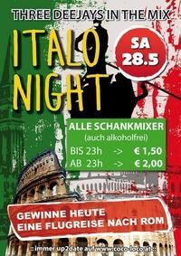 ITALO NIGHT@Disco Coco Loco