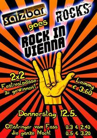 """Salzbar Rocks goes """"Rock in Vienna""""@Salzbar"""