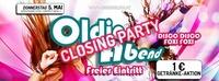CLOSING PARTY OLDIE ABEND - Freier Eintritt@Brooklyn