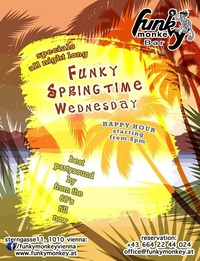 ☼ Funky Springtime ☼ Wednesday May 4th, 2016@Funky Monkey